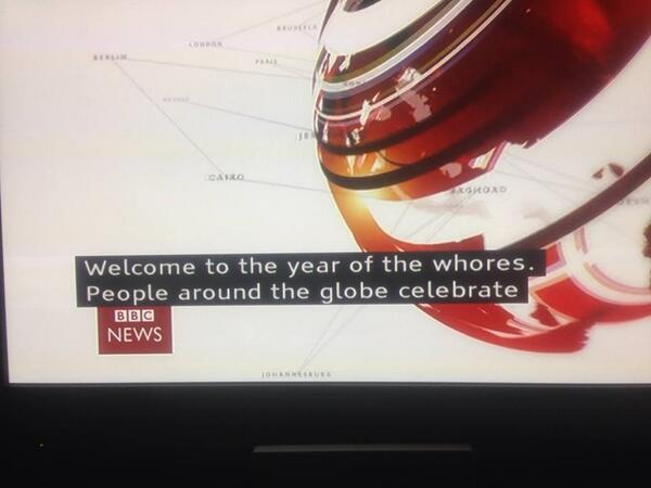 Happy Chinese New year!! And it's going to be a filthy one if BBC news subtitles are anything to go by..... http://t.co/Mie1zV1MAs - embedded image