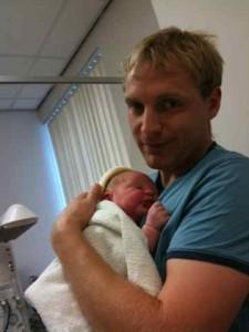 Daddy David and Anya