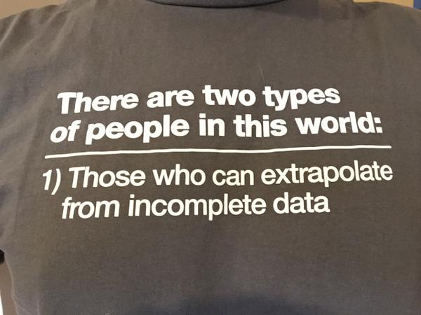 "RT ""@apolaine: When I showed this t-shirt to a colleague the other day, he asked me what was on the back: "" - embedded image"