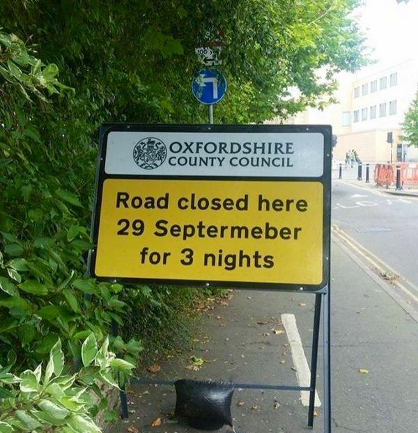 RT Shut up, roadsign. You're drunk.  - embedded image