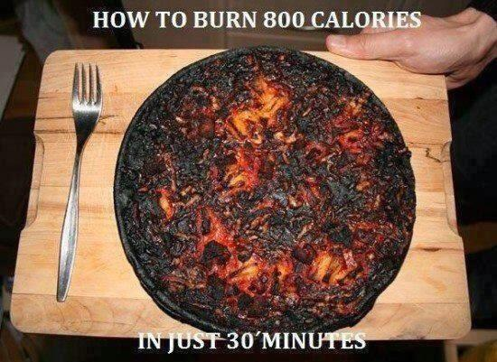"""How to burn 800 calories in 30 minutes."" #StupidPictures  - embedded image"