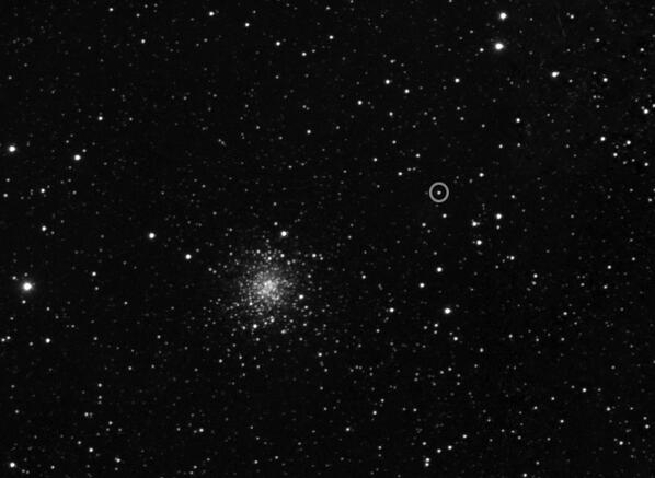 I CAN SEE IT! I can see comet #67P! (just!) http://t.co/xIPfimjpx0 http://t.co/Mzv8hWTubn - embedded image