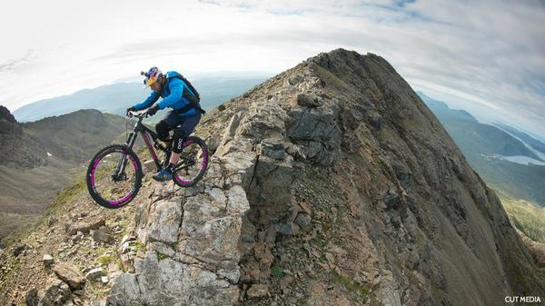 RT Stunt rider @danny_macaskill says he pictured Cuillin mountain range as 'a pavement' http://t.co/7zTxeZ6KfF  - embedded image