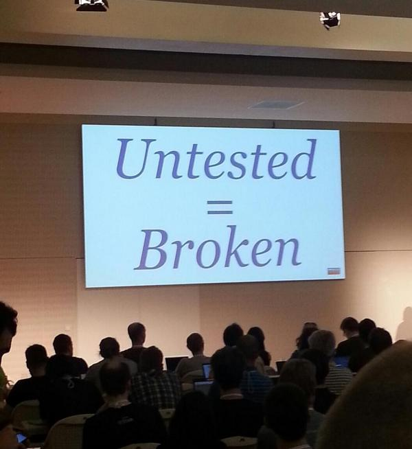 RT A big truth about DevOps at EuroPython from Schlomo Schapiro #ep14 #python  - embedded image