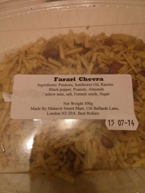 This is good Bombay mix like stuff. (Farari Chevra).  - embedded image