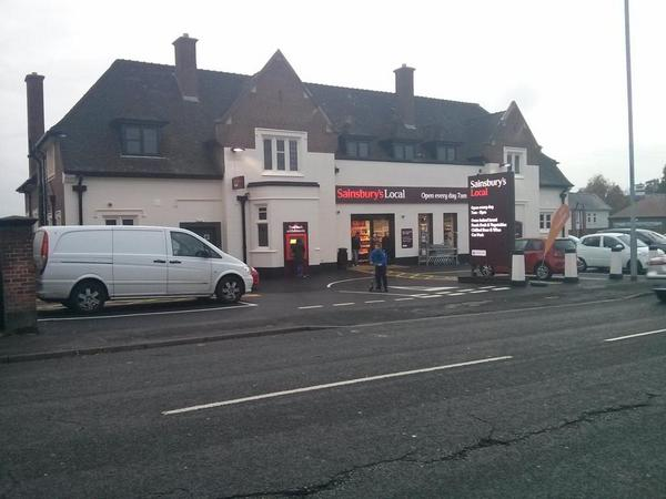 Gosh. New shop. Much excitement. #sainsburys #bromsgrove (probably the only Sainsbury's well ever have in Bromsgrove)  - embedded image