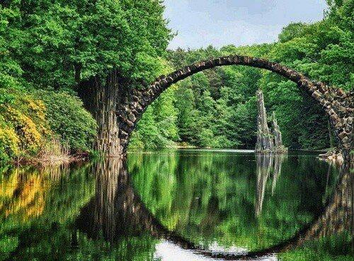 Ancient Bridge, Kolpino-Russian Federation. http://t.co/2UKbzFPiTK - embedded image