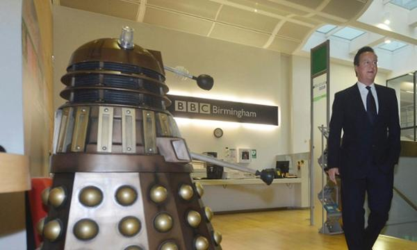 RT This Dalek could do the UK a huge favour.   All together now. EXTERMINATE!  - embedded image