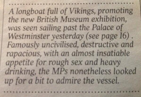 RT Ah ahah MT @scottdagostino: The greatest sentence ever written was printed in the Times today:  via @GilesKristian - embedded image