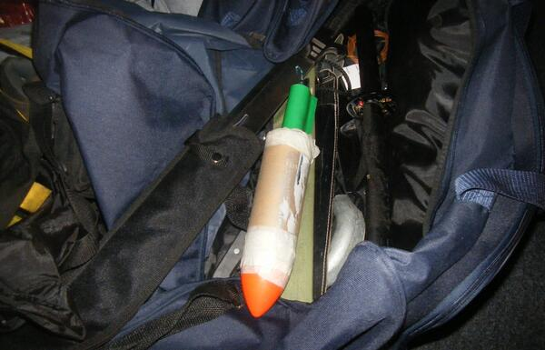 RT They were planning an attack on an EDL demo with guns, knives, and an improvised explosive (pictured) #WMCTU  - embedded image