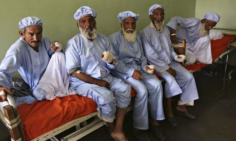 RT The men in this photo had their fingers cut off by the Taliban for voting http://t.co/Urve8rH7Rq @guardianworld  - embedded image