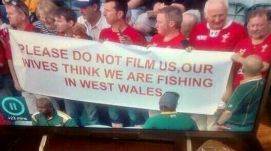 RT Best banner at the World Cup so far  - embedded image