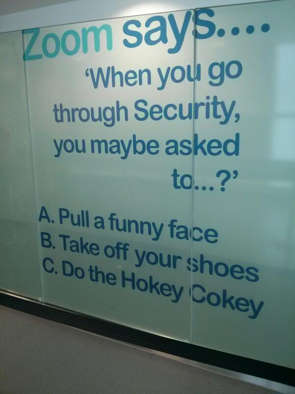 Airport grammar fall. #bhx  - embedded image