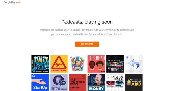 RT Podcasts finally are coming to Google Play Music  https://t.co/jEgrYo7nq8  - embedded image