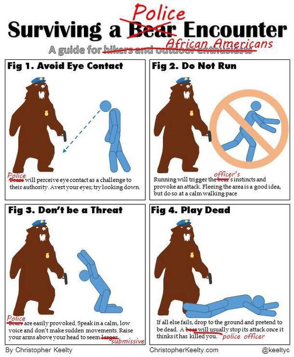 RT How to survive a police encounter. RIP Walter Scott  - embedded image