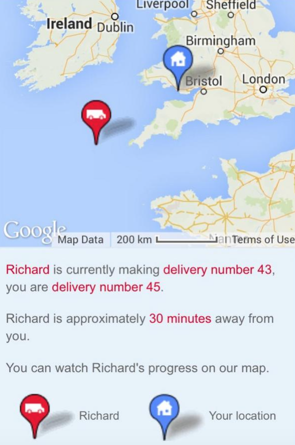 RT I think Richard might be in trouble  - embedded image