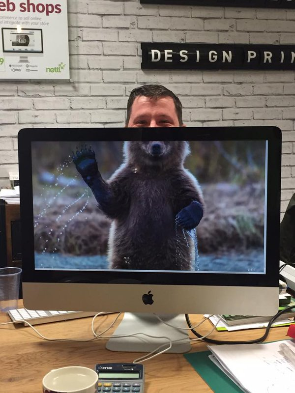"RT ""Hello"" from Grizzly Chris @crlowe84 from @nettlbirmingham @nettlweb #nettlheads  - embedded image"