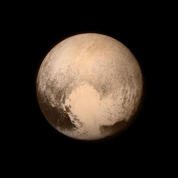 RT Pluto just had its first visitor! Thanks @NASA - it's a great day for discovery and American leadership.  - embedded image