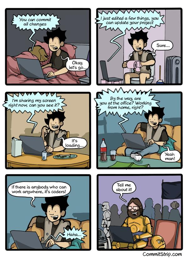 RT Coders...Coders everywhere... | CommitStrip needs you! http://t.co/Yzckm8GZRV  - embedded image