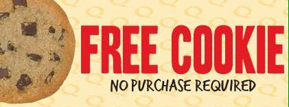 RT FLASH you phone at all us ALL week to get a FREE COOKIE!  - embedded image