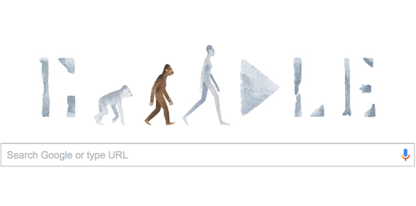 RT Creationists are flipping out over the latest Google Doodle https://t.co/42K2IirVl4  - embedded image