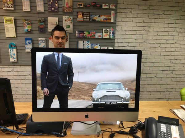 RT Hello Mr Bond! Join our competition to win a £1,000 website..Make sure to use the #nettlheads hashtag if you do!  - embedded image