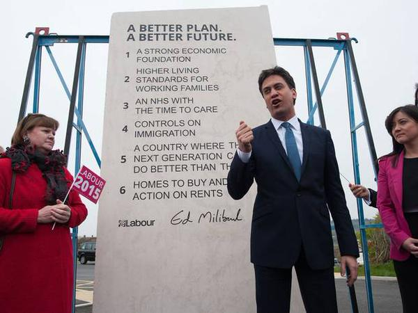 RT Because I'm interested in substance not form, I've read the words on the #EdStone What utter vacuous pap  - embedded image