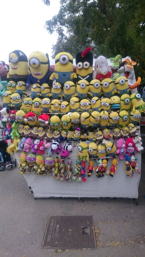 I went to Barcelona and all I saw were some lousey minions.  - embedded image