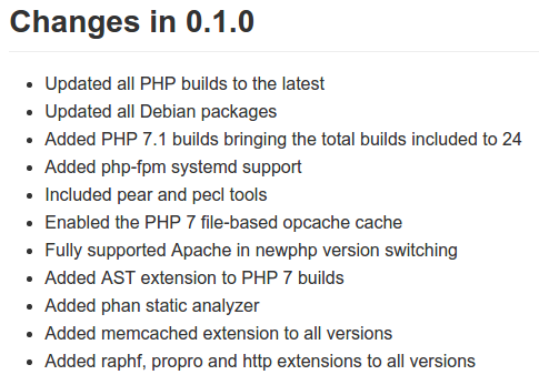 RT I just uploaded an updated php7dev vagrant image with quite a improvements. Give it a try - https://t.co/4XkFJGvlqH  - embedded image