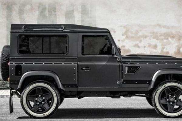 RT The ultimate Land Rover Defender... yours for a staggering £150,000: http://t.co/pNAQQaZK6I  - embedded image