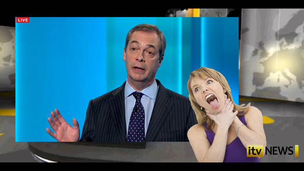 RT I am not sure the woman signing for the deaf was totally impartial #leadersdebate  - embedded image