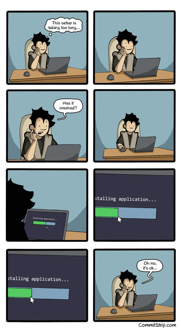 RT When I install a software  http://t.co/uUxisxW1T6  - embedded image