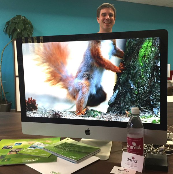 RT Nettl of Trafford Park's Javier does a specially squirrely #nettlheads @nettlweb  - embedded image