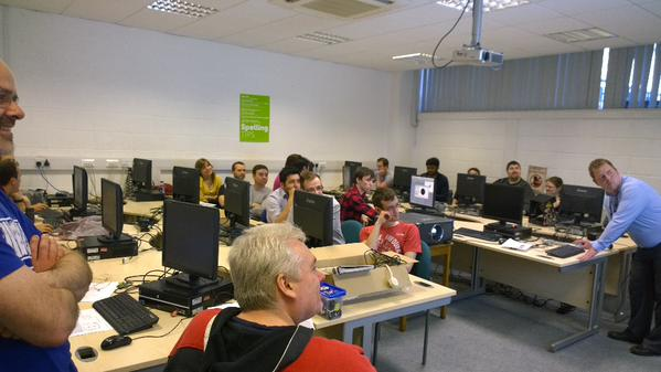 RT Great turn out at this evening at  bromsgrove #raspberryJam #raspberrypi  - embedded image