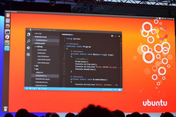 RT Visual Studio Code for Windows, Mac, and Linux. Available later today at http://t.co/xogd0ab1yM #Build2015 @bldwin  - embedded image