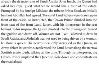 RT Well at least the Queen seems to know how to handle Saudi rulers with class...  - embedded image