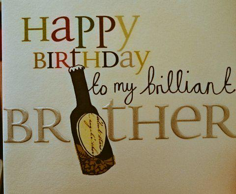 I'm a brilliant brother :-)  - embedded image