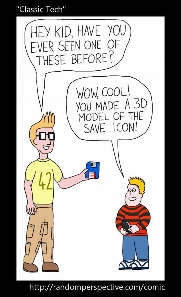 RT Have you ever used floppy disks? #3d #floppy #disk #coding #humour #javascript #html5 #java #old #technology  - embedded image