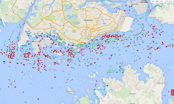RT Singapore's waters become a parking lot for oil tankers as traders await higher prices. https://t.co/sQhB72irOj  - embedded image