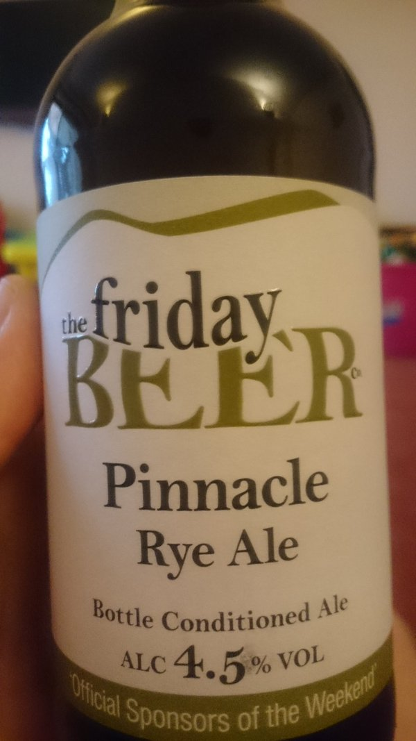 The Friday Beer.  - embedded image