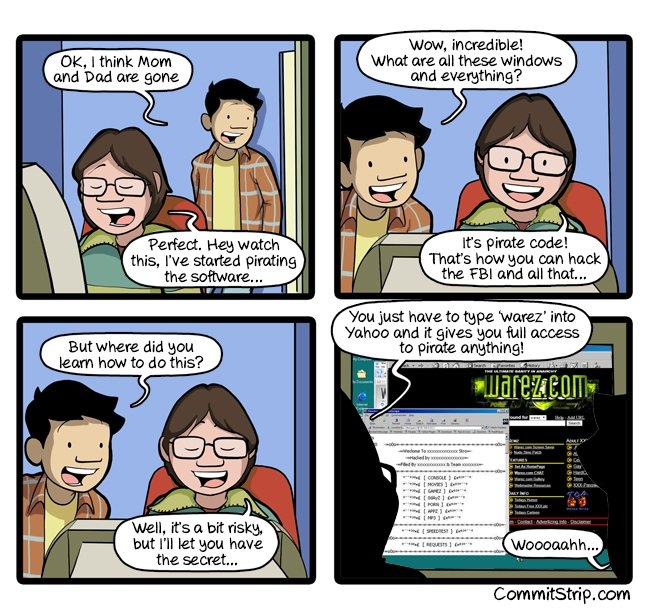 RT Childhood of a coder: Pirate all the things  https://t.co/urp8B1oHdR  - embedded image
