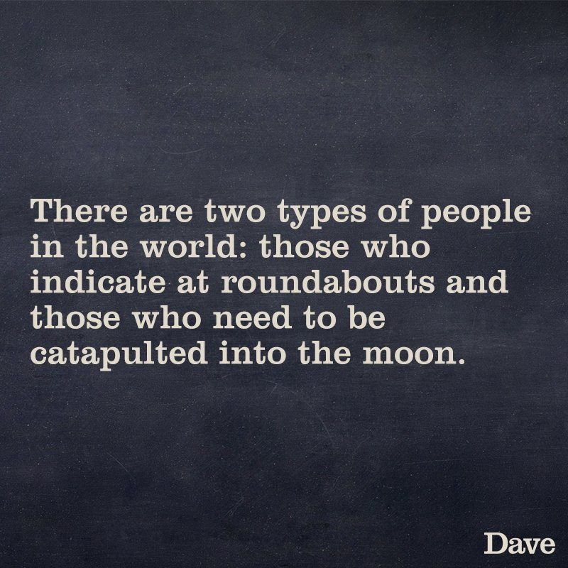 RT Wisdom from Dave  - embedded image