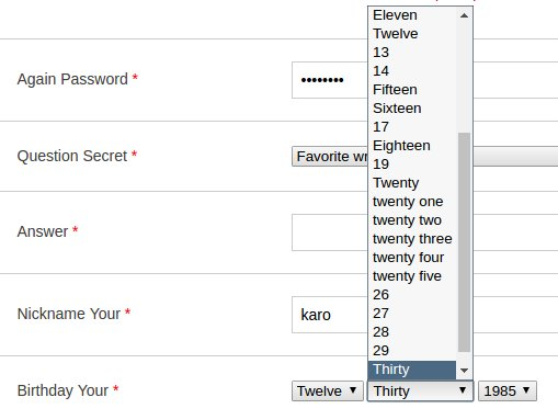 RT and now i present the greatest registration form dropdown of all time  - embedded image