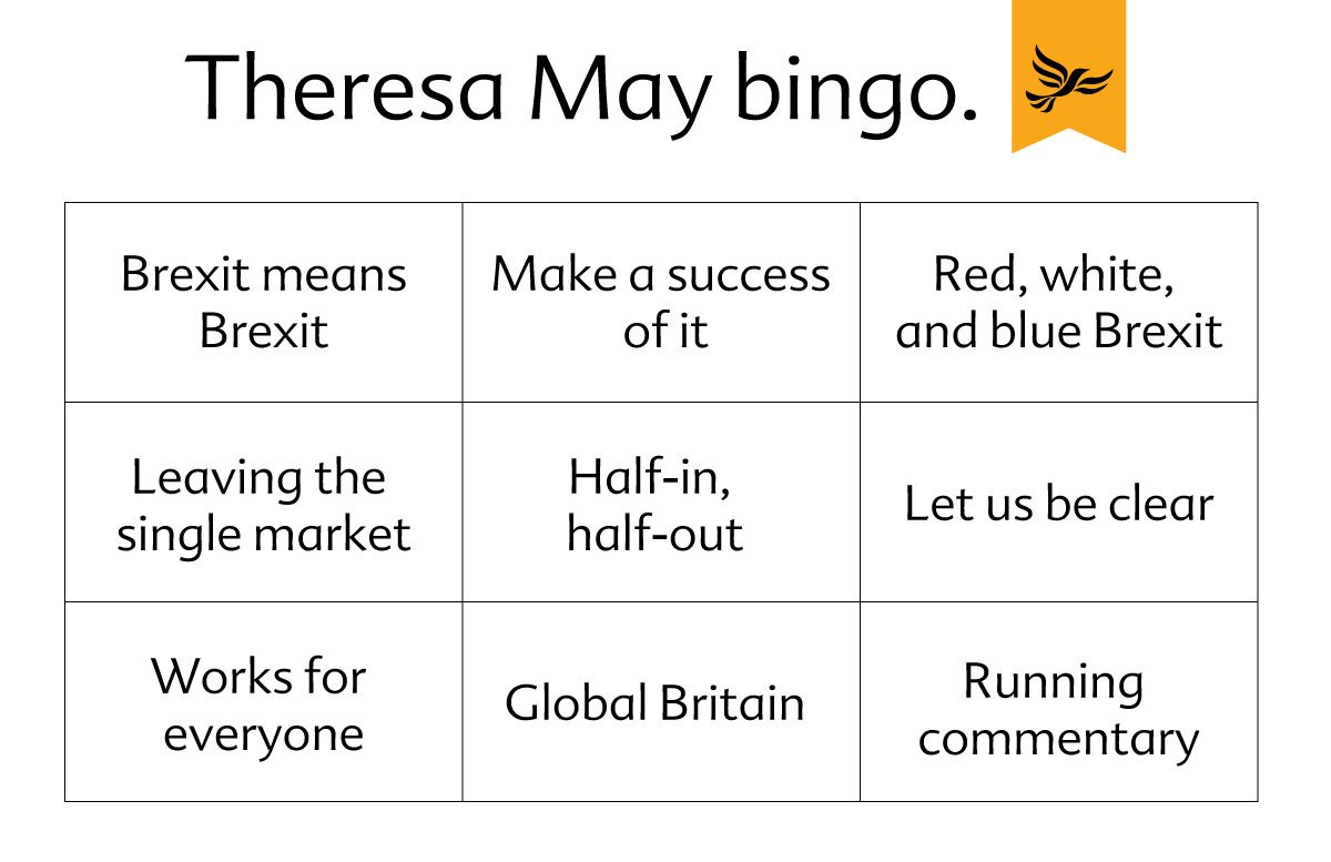 RT Here's a little something to keep you busy while @theresa_may talks Britain out of the #singlemarket #Brexit  - embedded image