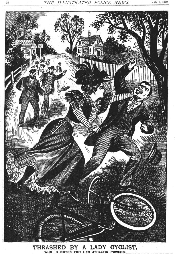 RT This story, from the Illustrated Police News (1899), remains better than any other newspaper article ever written.  - embedded image 2
