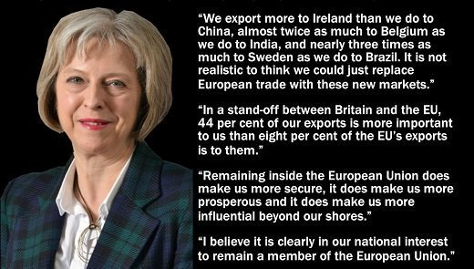 RT The wise words of Theresa May...  - embedded image
