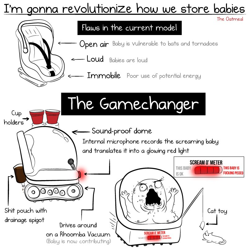 RT I'm gonna revolutionize how we store babies  - embedded image