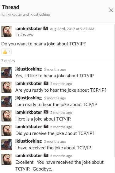 RT This image is a TCP/IP Joke.  This tweet is a UDP joke.  I don't care if you get it.  - embedded image