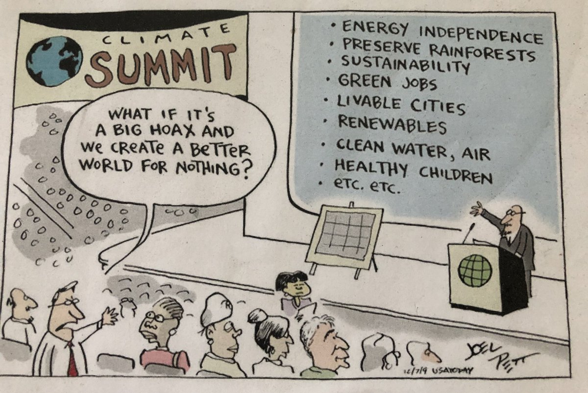 RT This cartoon from 2009 is still relevant today. #climate  - embedded image
