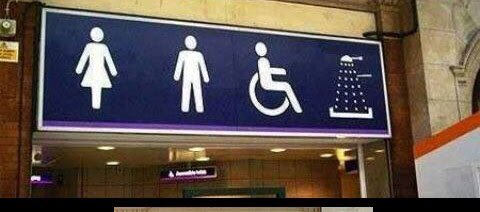 RT Took me way to long to figure out that was a shower not a Dalek.  - embedded image
